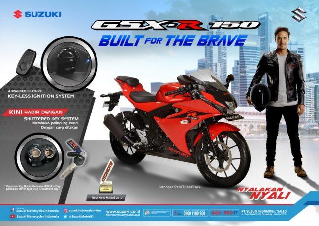 Harga Suzuki GSX-R150 Shuttered Key System 2018