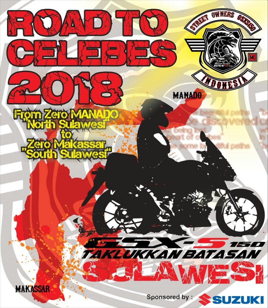 Suzuki Touring road to celebes 2018