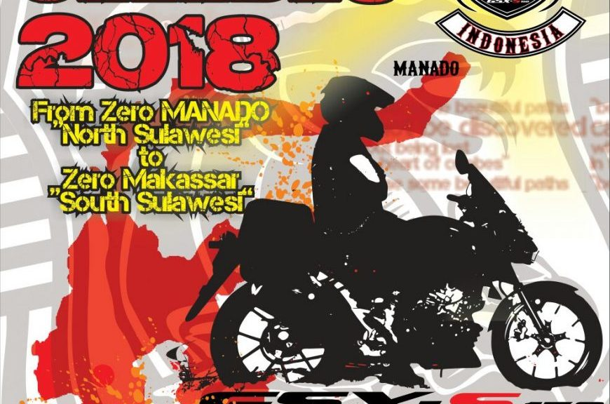 Suzuki Touring road to celebes 2018