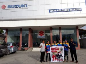 Suzuki Touring road to celebes