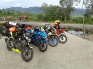 Touring road to celebes