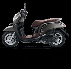warna baru Honda Scoopy 2018 stylish matte brown