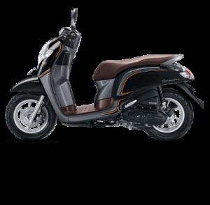 warna baru Honda Scoopy 2018 stylish black