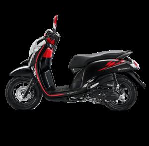 Warna baru Honda Scoopy 2018 sporty black