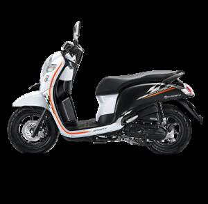 warna baru Honda Scoopy 2018 sporty white