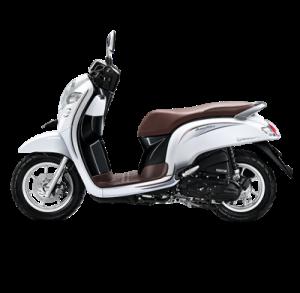 warna baru Honda Scoopy 2018 stylish white