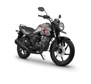 Warna Honda CB150 Verza 2018Macho Silver