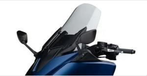 Fitur yamaha Tmax DX 2018 E-adjustable windscreen