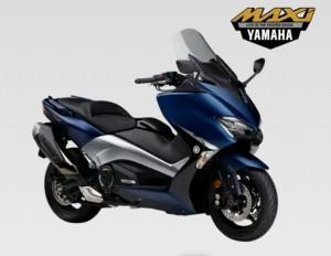 warna yamaha Tmax DX 2018 (phantom blue)