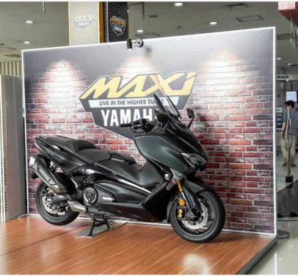 warna Yamaha Tmax DX 2018