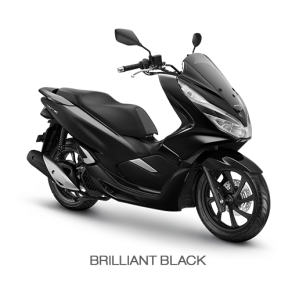 color All New Honda PCX 150 2018 black (brilliant black)