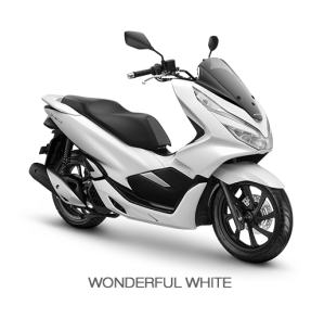 Color All New Honda PCX 150 2018 white (wonderful white)