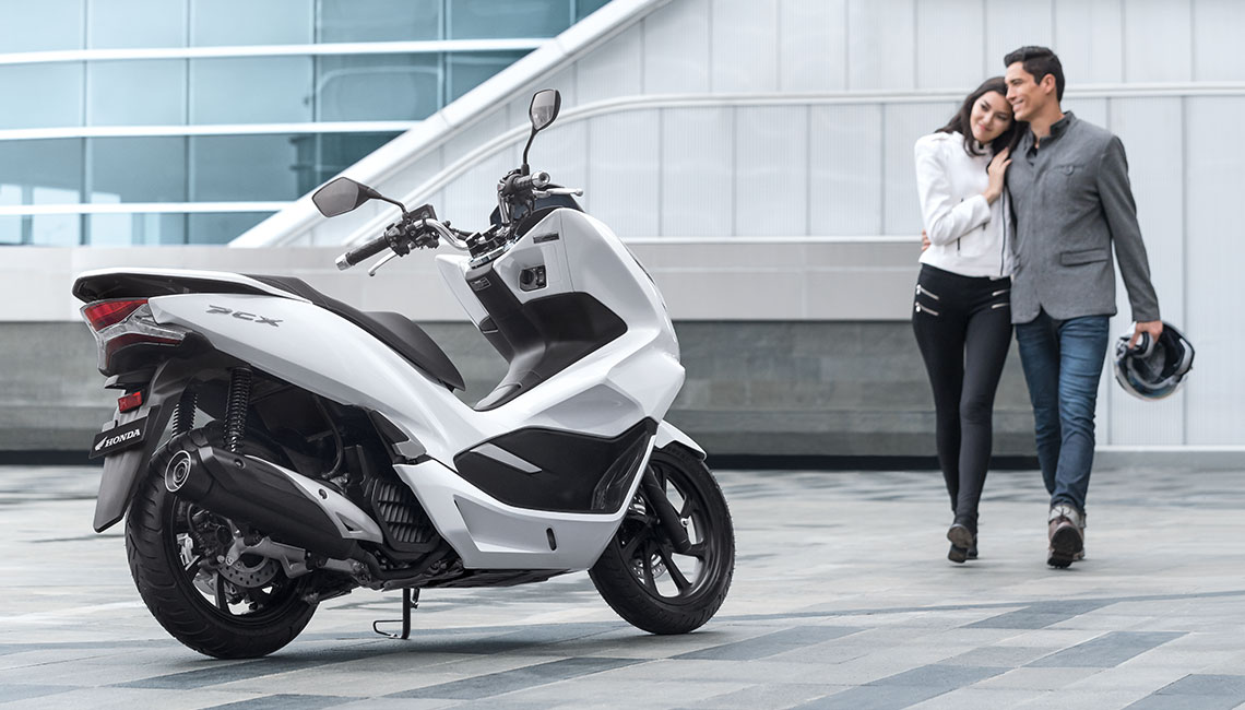 All New Honda PCX 150 2018 New Zealand