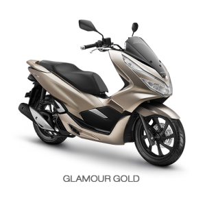 Color All New Honda PCX 150 2018 gold (glamour gold)