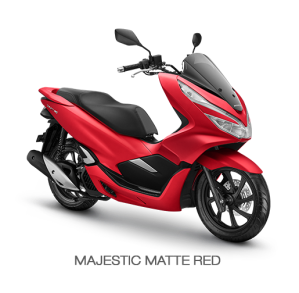 color All New Honda PCX 150 2018 Red (majestic matte red)
