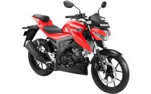 Warna baru Suzuki GSX-S150 2018 Merah stronger red