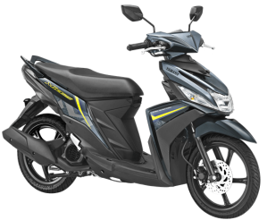 Warna Baru Yamaha Mio M3 125 2018 hitam