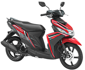 Warna Baru Yamaha Mio M3 125 2018 merah