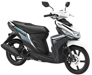 Warna Baru Yamaha Mio M3 125 2018 putih