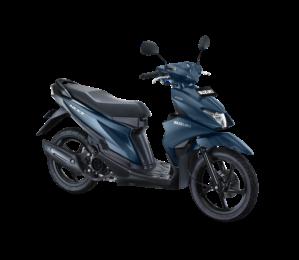 Warna Suzuki Nex II 2018 Facelift biru doff