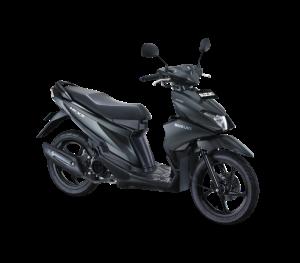 Warna Suzuki Nex II 2018 Facelift hitam doff