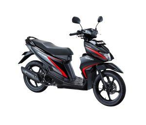 Warna Suzuki Nex II 2018 Facelift hitam