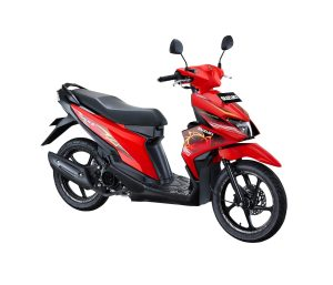 Warna Suzuki Nex II 2018 Facelift merah fancy dynamic