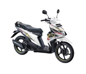 Warna Suzuki Nex II 2018 Facelift putih fancy dynamic