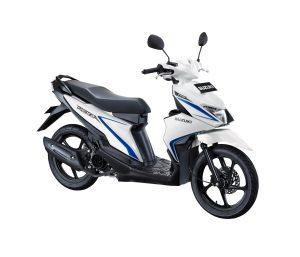 Warna Suzuki Nex II 2018 Facelift Putih