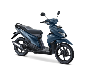 Warna Suzuki Nex II 2018 Facelift biru doff elegant premium