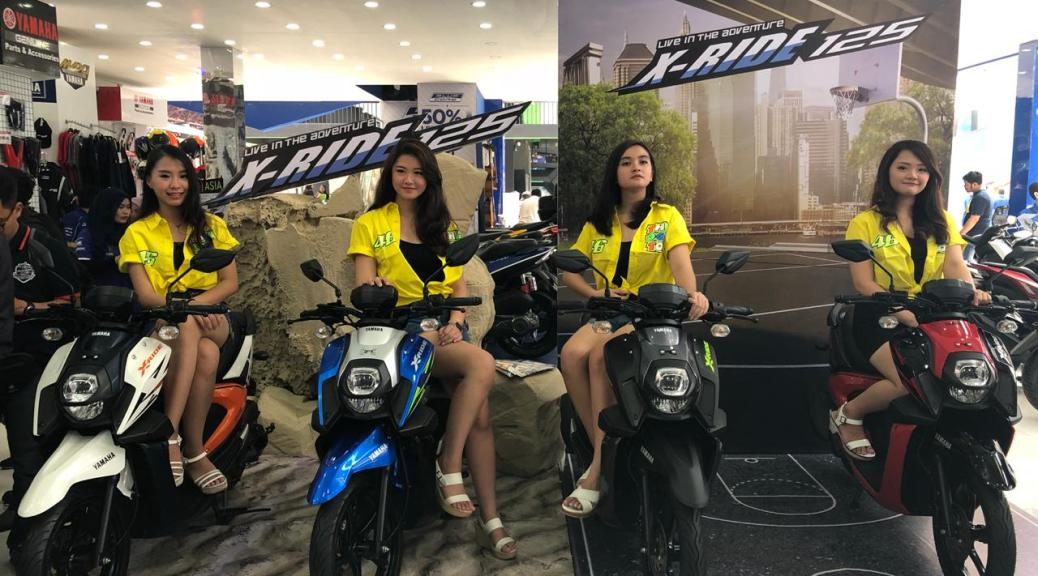 Pilihan Warna Baru Yamaha New Xride 125 2018