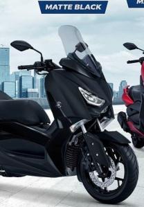 Warna baru Yamaha Xmax 250 2018 matte black hitam doff