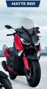 Warna baru Yamaha Xmax 250 2018matte red merah doff