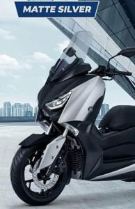 Warna baru Yamaha Xmax 250 2018 matte silver doff