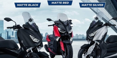 warna baru Yamaha Xmax 250 2018