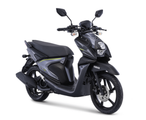 Warna Baru Yamaha New Xride 125 2018 Exclusive Black (hitam abu-abu)