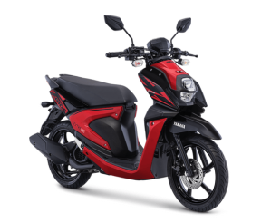 Warna Baru Yamaha New Xride 125 2018 Attractive Red (merah hitam)
