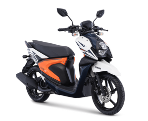 Warna Baru Yamaha New Xride 125 2018 Freedom White (putih orange)