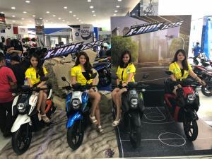 Warna Baru Yamaha New Xride 125 2018