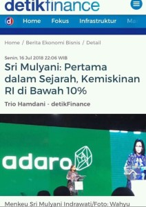angka kemiskinan indonesia 2018