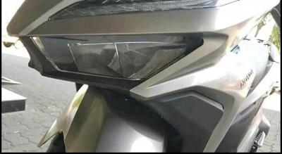 mika headlamp lampu depan new honda vario 150 retak