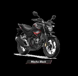 Warna Baru New Honda CB150R StreetFire 2018 Macho Black Hitam