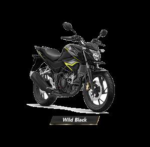 Warna Baru New Honda CB150R StreetFire 2018 Wild Black Hitam