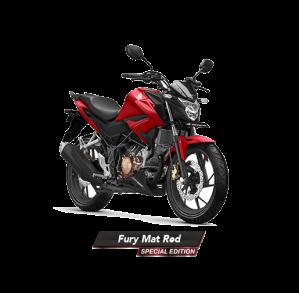 Warna Baru New Honda CB150R StreetFire 2018 Fury Mat Red Merah Dof