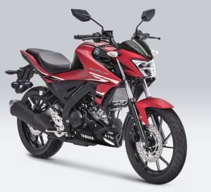 warna Yamaha New Vixion R 2019 matte red merah doff