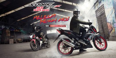 new honda sonic 150R 2019