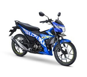 pilihan warna baru suzuki satria F150 2019 livery motogp biru