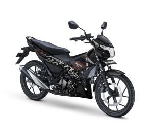 pilihan warna baru suzuki satria F150 2019 black hitam
