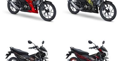pilihan warna baru suzuki satria F150 2019