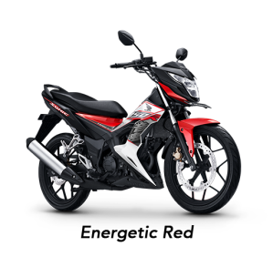 warna honda sonic 150R 2019 energetic red merah